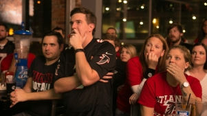 Atlanta Falcons Fans Watch Super Bowl LI Against The New England Patriots
